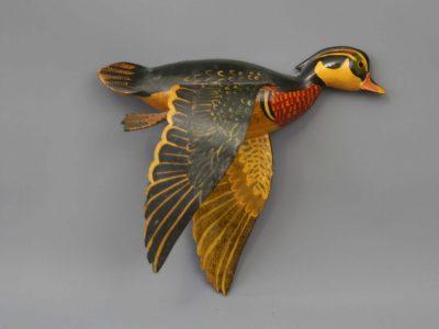 Gigl Woodduck flying wall