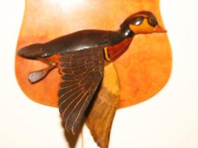 Joe Gigl Wood Duck lamp