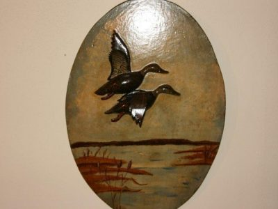 Joe Gigl Black Ducks plaque