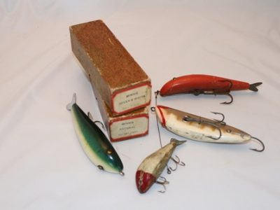 "Berberich ""Minnie"" Wooden Lures"